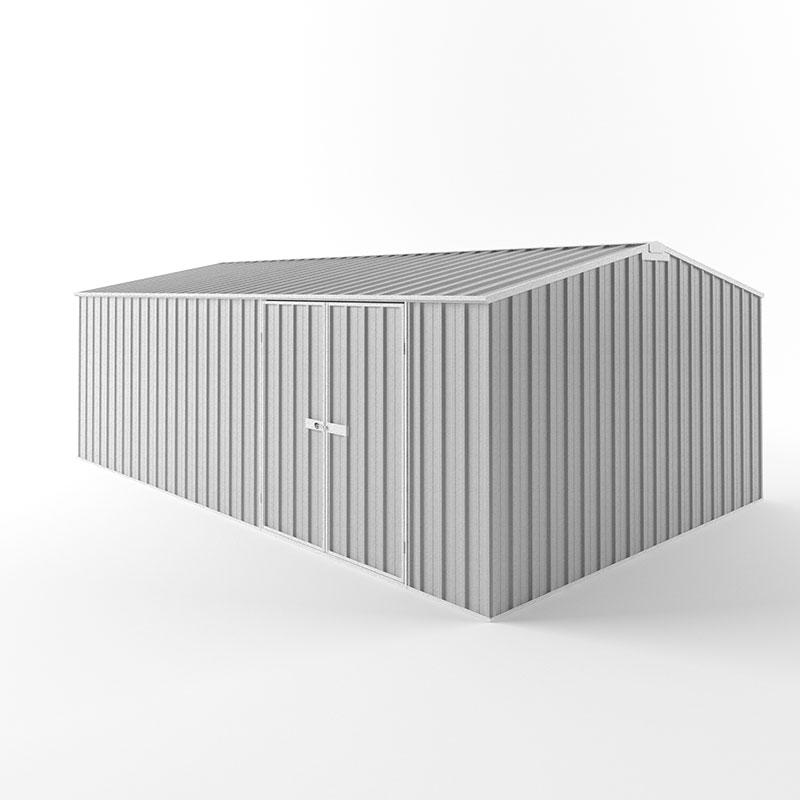 Truss Roof Workshops 6 00m X 3 75m X 1 80m Zinc Garden